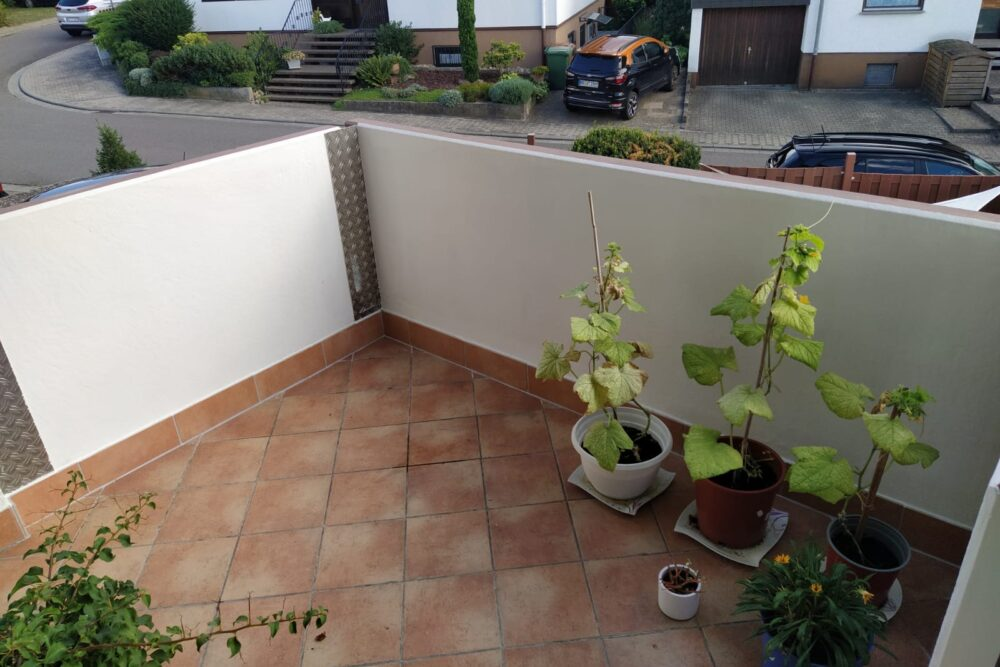 Hausmeisterdienst: Sanierung eines Balkons in Nussloch